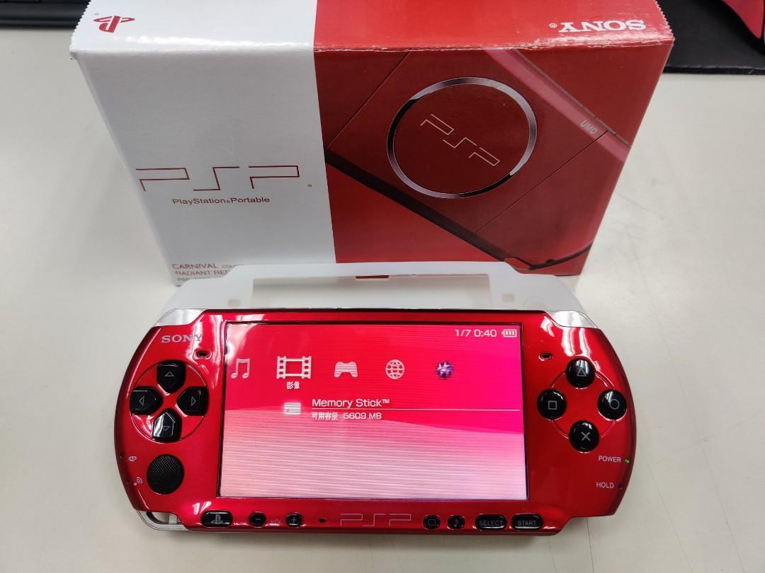 SONY PSP 3006 紅 已破解 改機