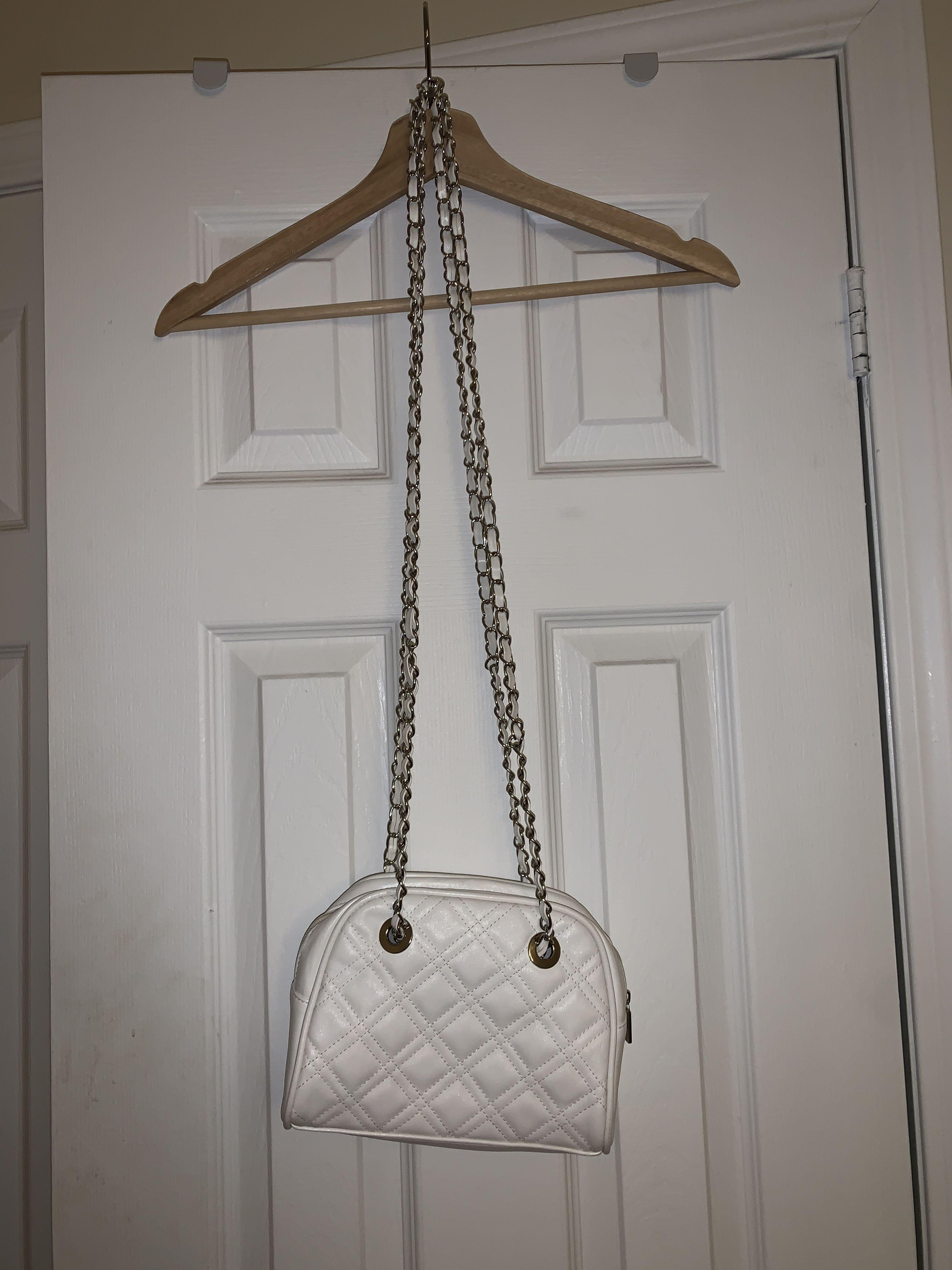 quilted side purse