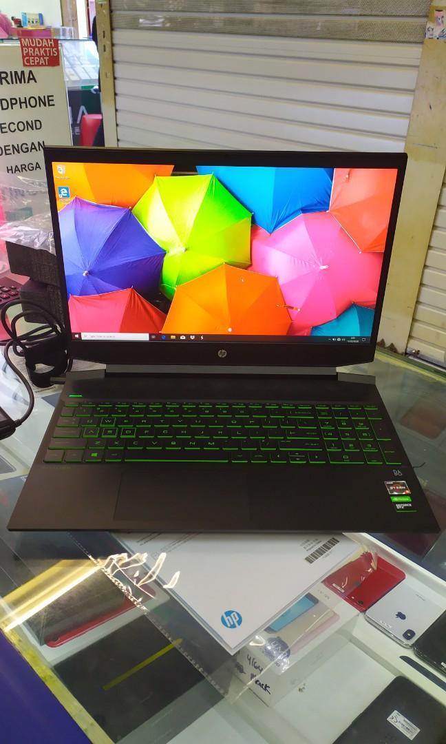 Ready Laptop Gaming HP Pavilion Gaming 15 EC0001AX Kredit Mudah Free Admin.