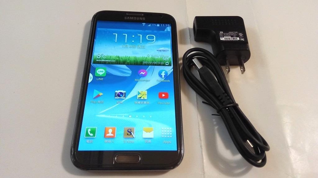 <二手良品螢幕無刮傷>SAMSUNG GALAXY Note2 N7100 5.5吋 安卓4.4 32G版本只要1200