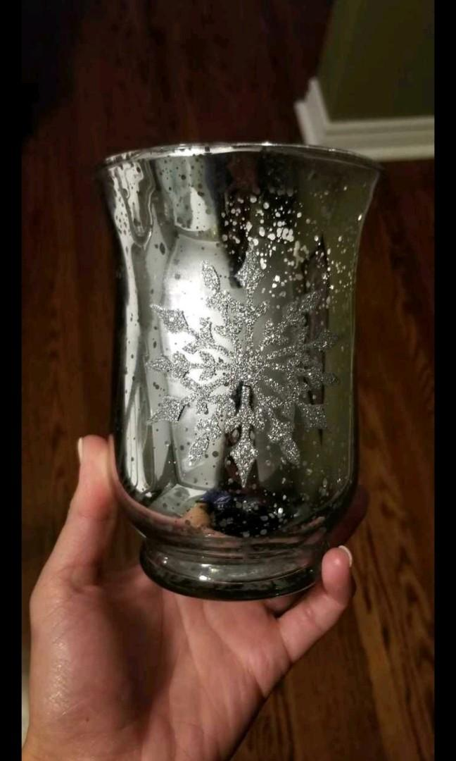 Snowflake Candle Holder