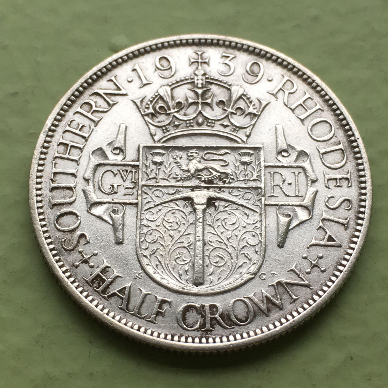 1939 King George half crown