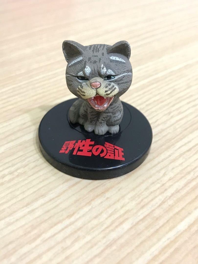 T-ARTS 野性之證 吼吼吼 嘶吼的野生動物 P1  貓咪款