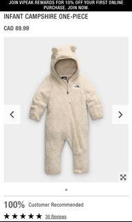 The North Face Infant One-Piece