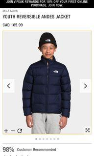 The North Face Youth Reversible Jacket - s
