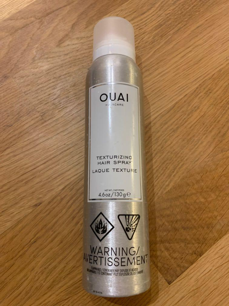 The Ouai texturizing hair spray