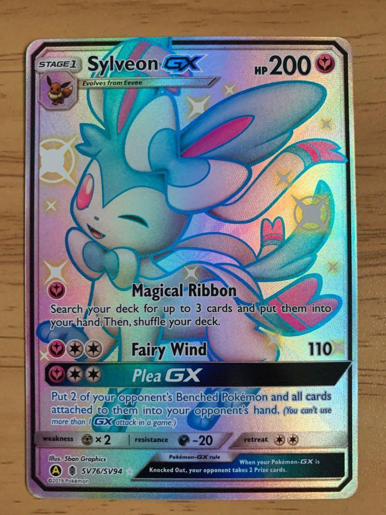 Pokemon TCG Hidden Fates Eevee Evo Umbreon Shiny Full Art Card *MINT PSA 8*