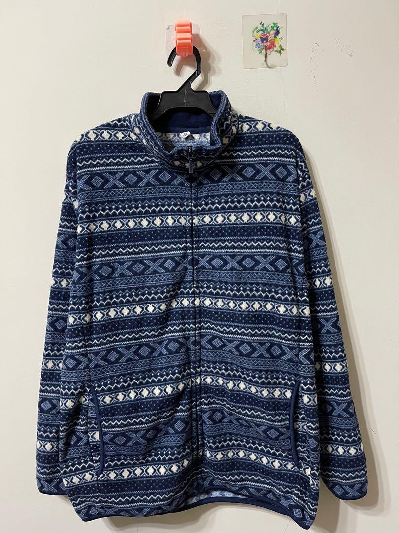 UNIQLO 圖騰紋路刷毛保暖外套