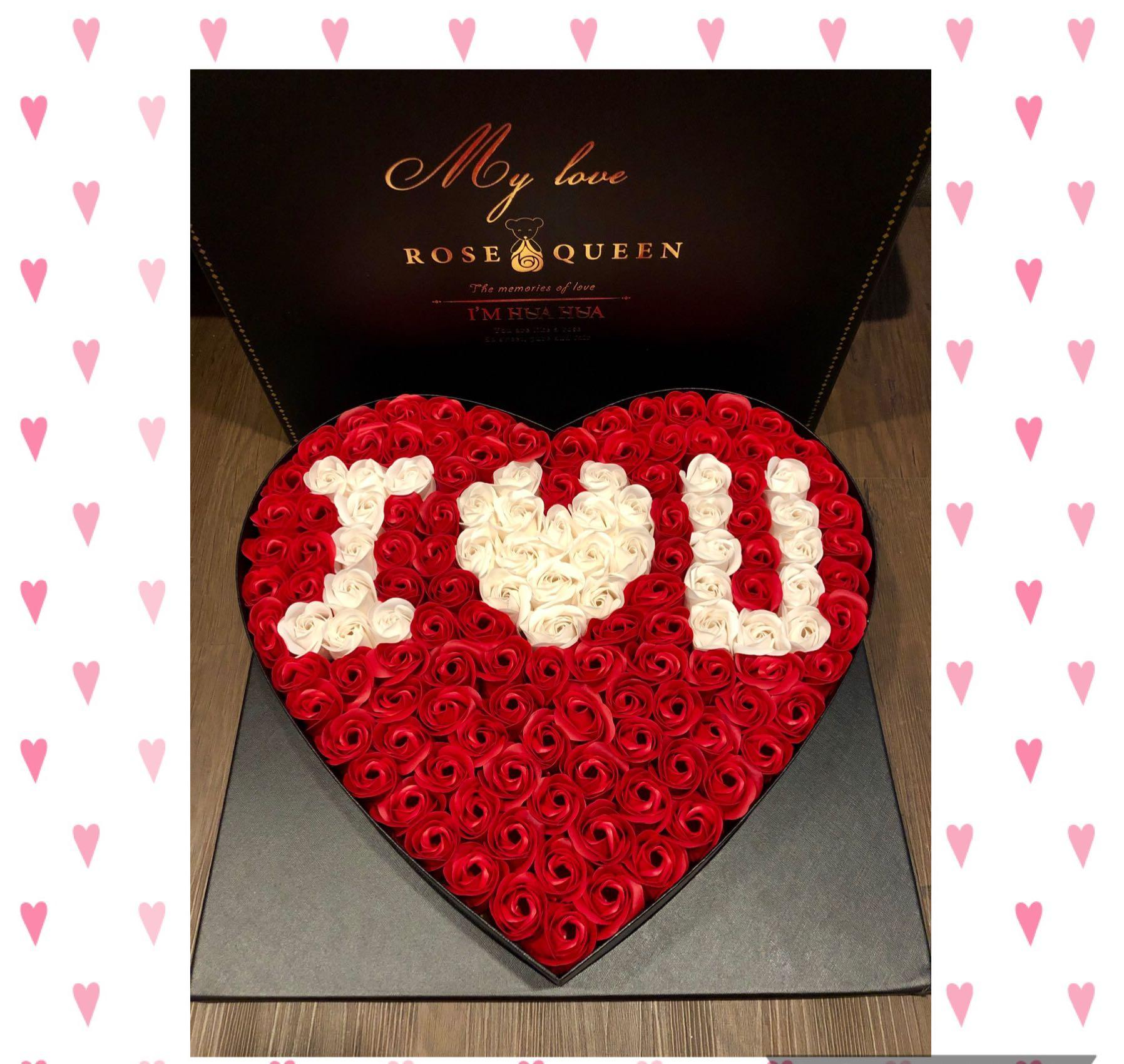 Valentine S Day Gift Set These Can Last For Years 99 Stalks Of Handmade Real Soap Roses Gift Box Ideal For Valentine S Day Marriage Proposal Birthday Anniversary Comes With A Nice Box Greeting Card Design Craft