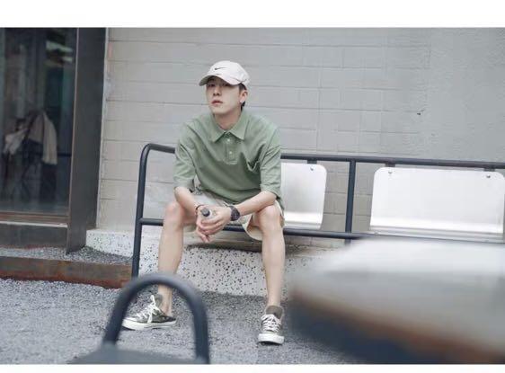 純色口袋短袖POLO衫𓁋【不提供議價】