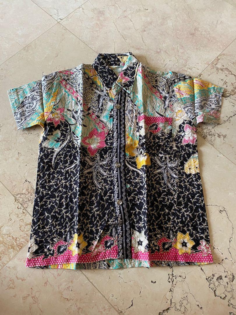 5-6Y Batik Black