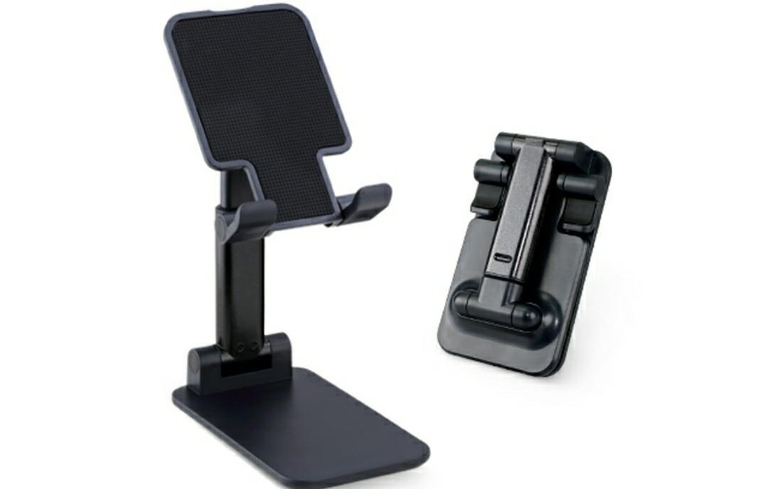 折疊式手機伸縮支架-黑