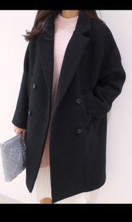 大衣外套 長版  毛呢