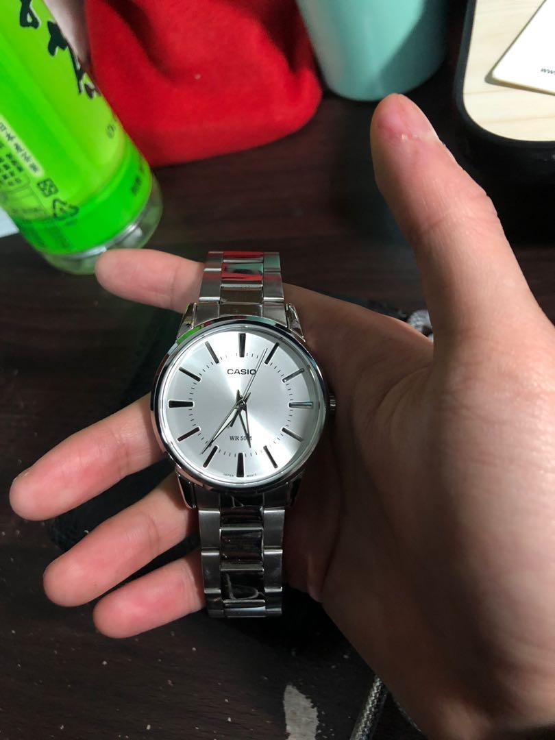 二手 Casio 手錶 男 狀況很好 少戴