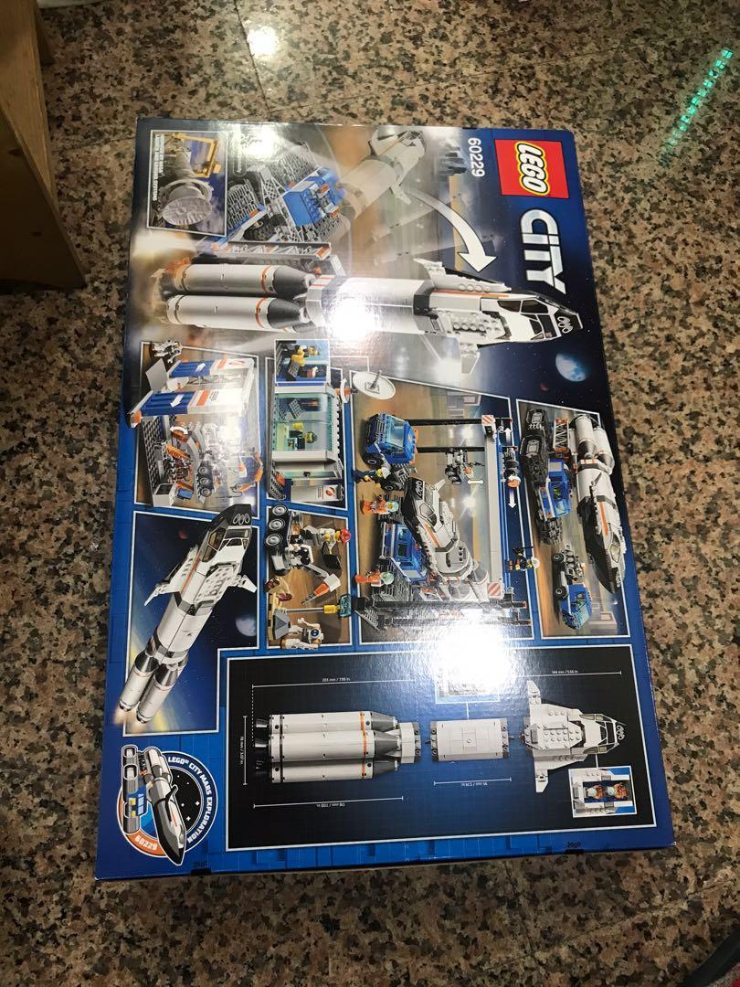 樂高 LEGO 60229 太空火箭 火箭裝配與運輸火箭 CITY 城市系列 火星探索系列