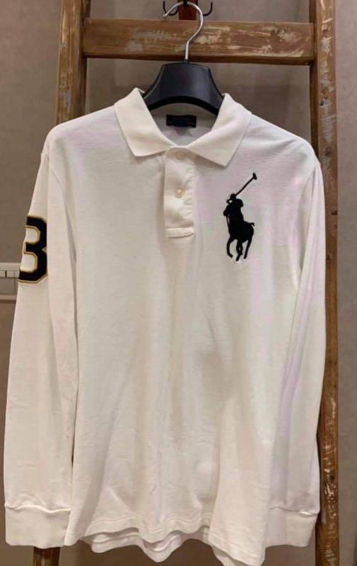 大童男款 Ralph Lauren 長袖Polo 衫