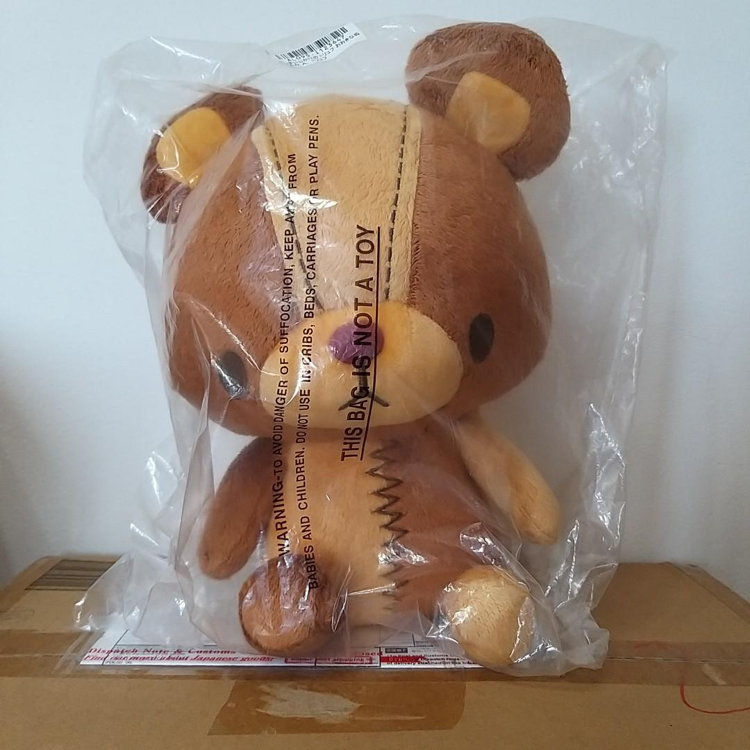 日本景品 Taito 發條熊 娃娃 玩偶