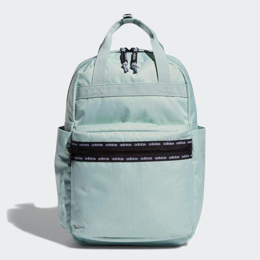 Adidas薄荷綠中款後背包