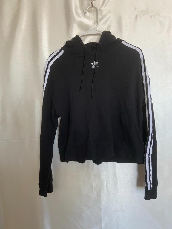 Adidas - Black Hoodie - Medium