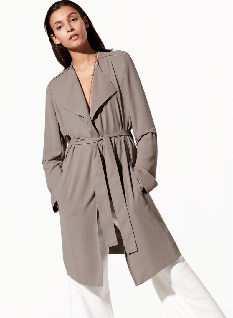 Babaton (Aritzia) Quincey duster size small