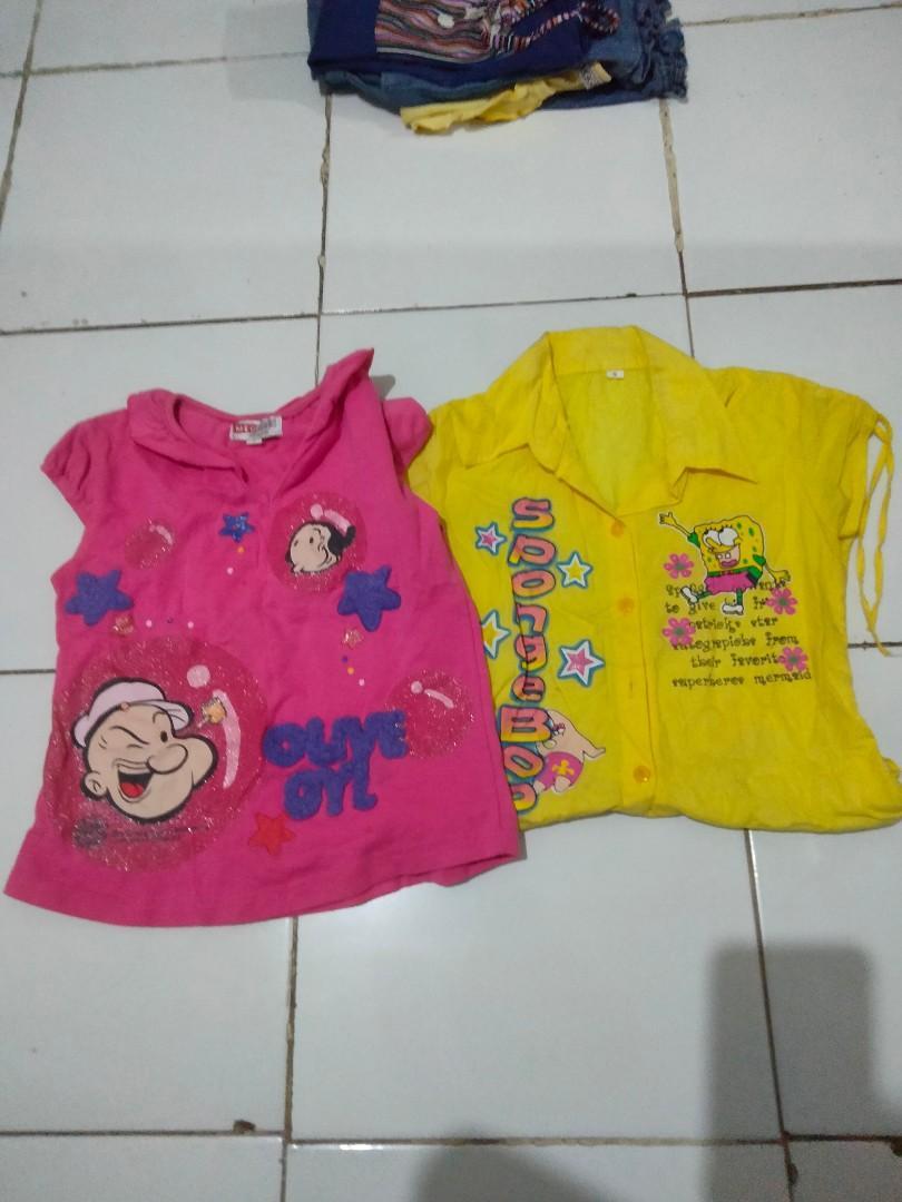 Baju Anak Cewek Dapat 2
