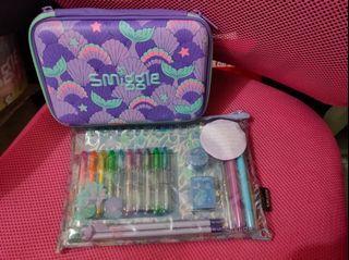 Brandnew! Authentic SMIGGLE  Pencil Hardcase & Notebook Set Bundle