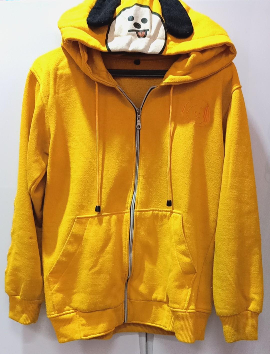 BT21 Chimmy BTS Jacket Yellow Hoodie