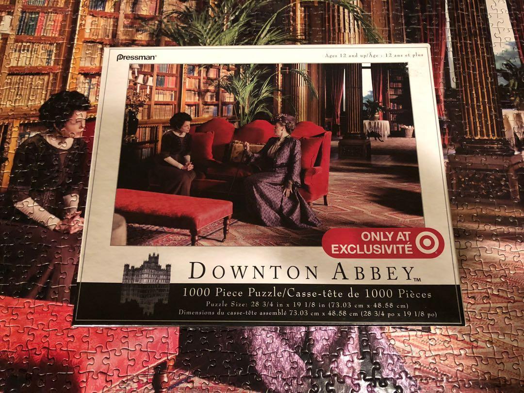 Downton Abbey 1000 piece jigsaw puzzle