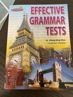 (近乎全新)Effective Grammar Tests (Form 3)