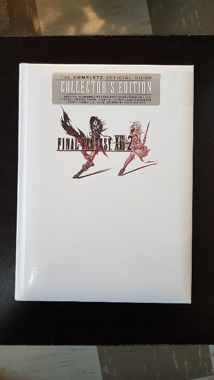 Final Fantasy XIII-2 Complete Official Guide Collector's Edition