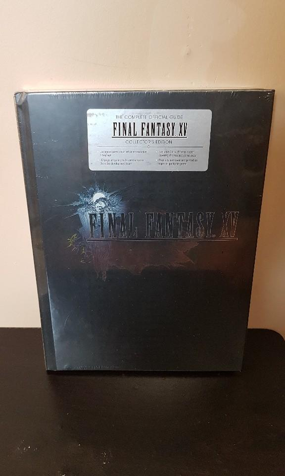 Final Fantasy XV The Complete Official Guide Collector's Edition