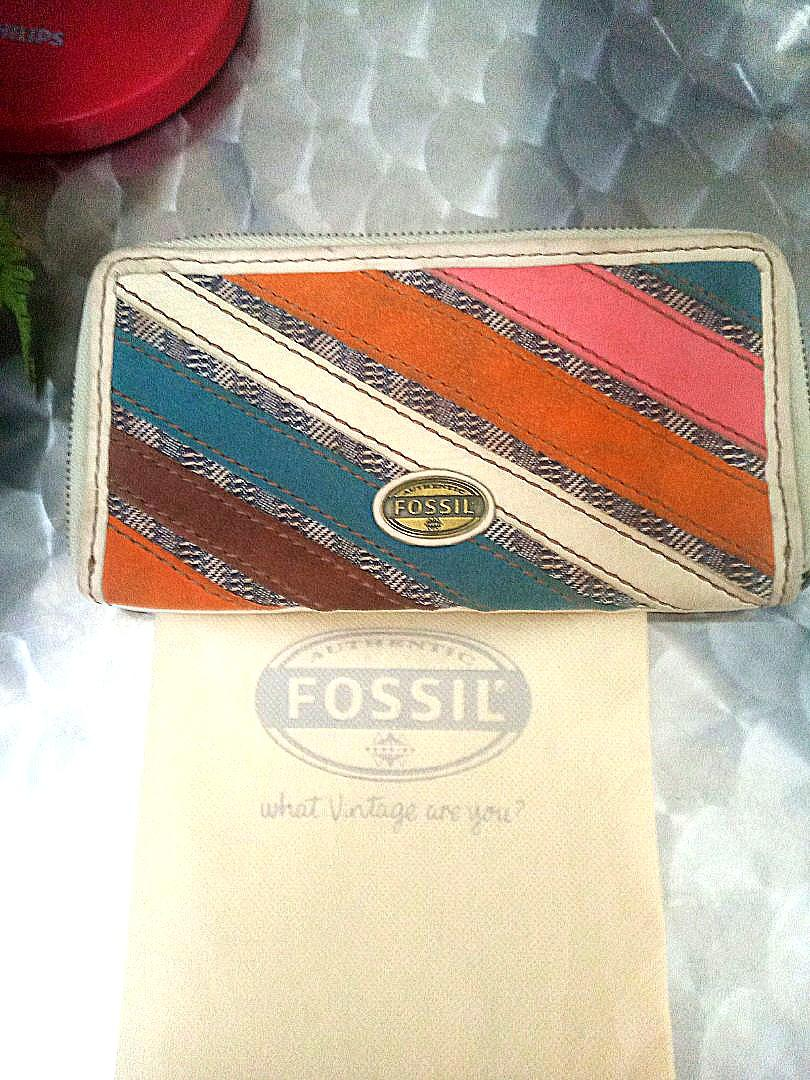 Fossil wallet dompet ori
