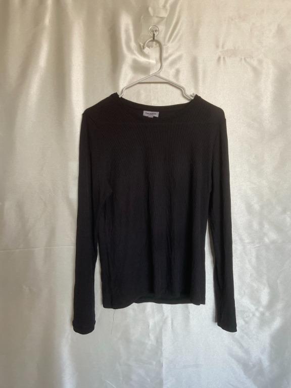 Frank And Oak - Black Sweater - Large