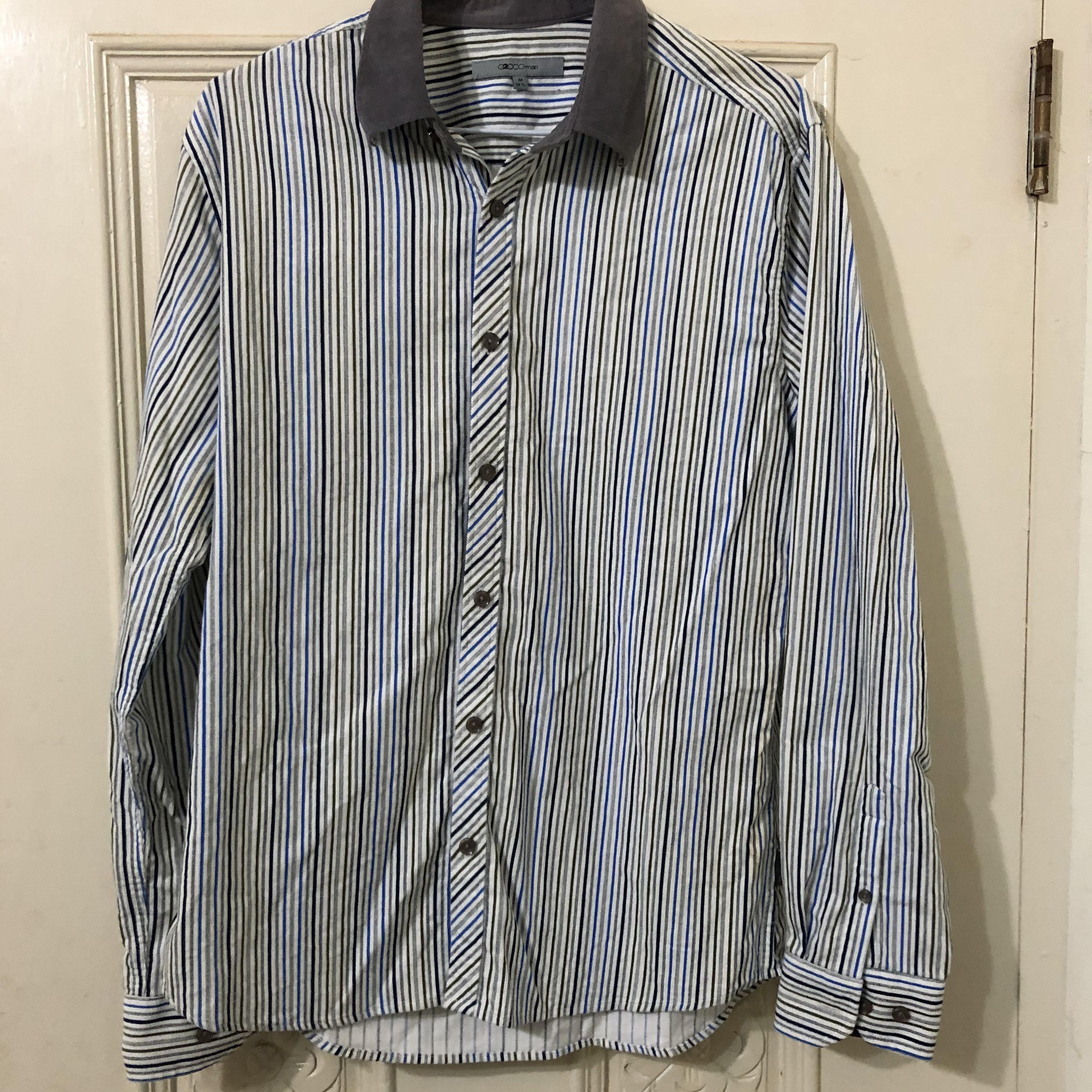《二手》G2000棉質襯衫 100%棉