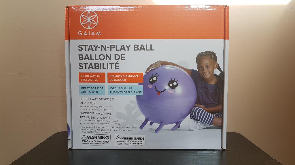 Gaiam Stay-N-Play Ball