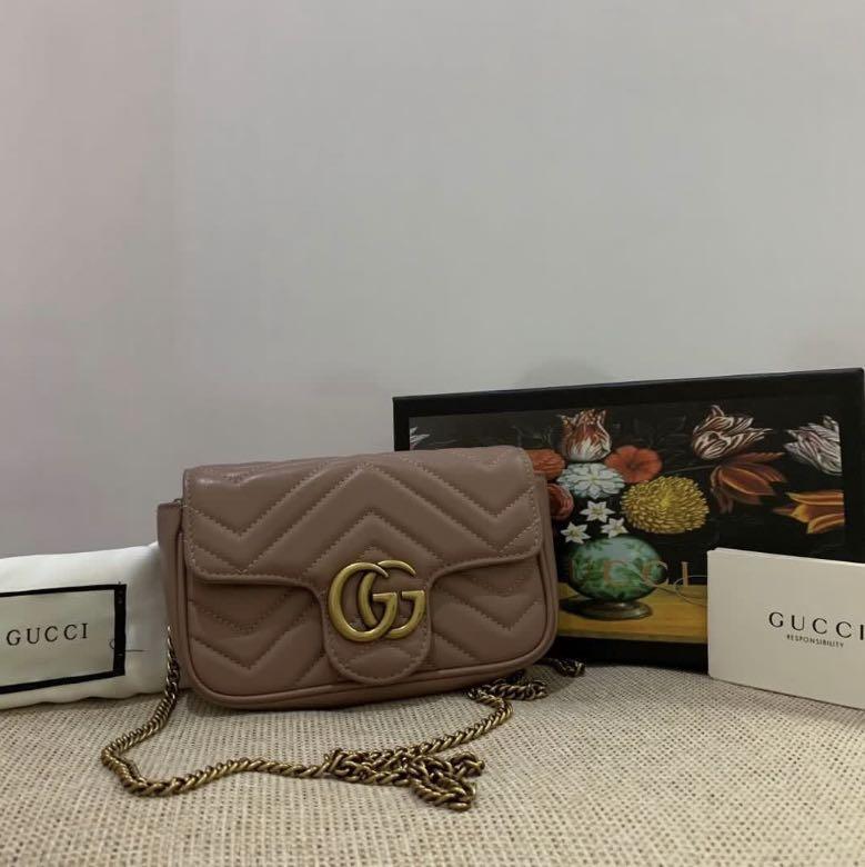 Gucci Marmont Super Mini Sling Bag