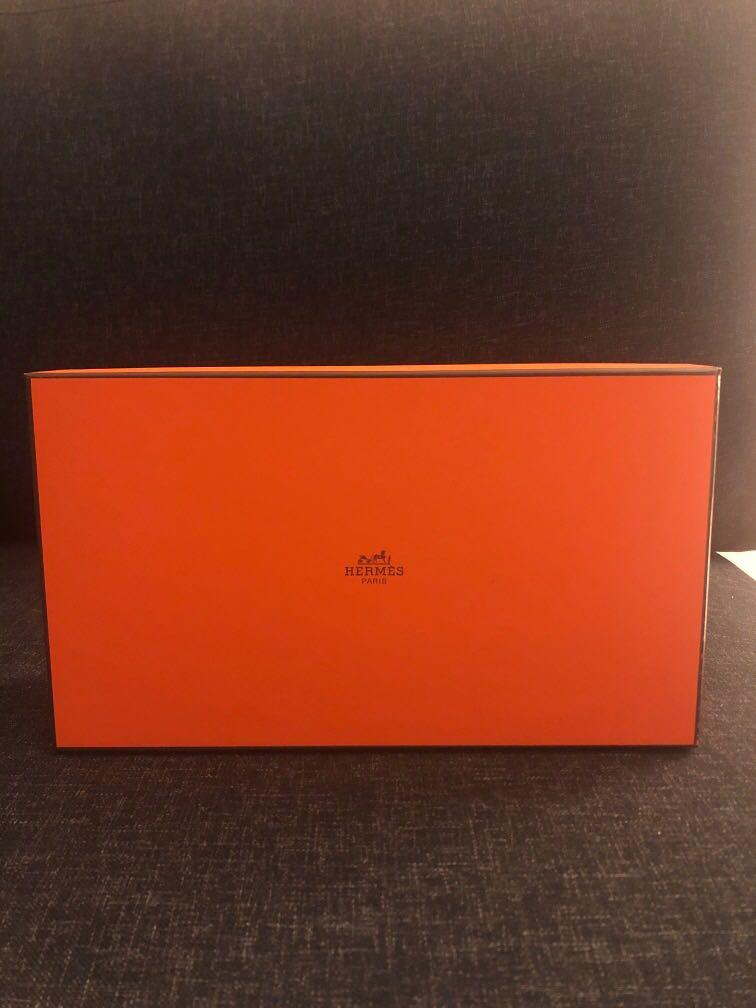 Hermes Shoes Box