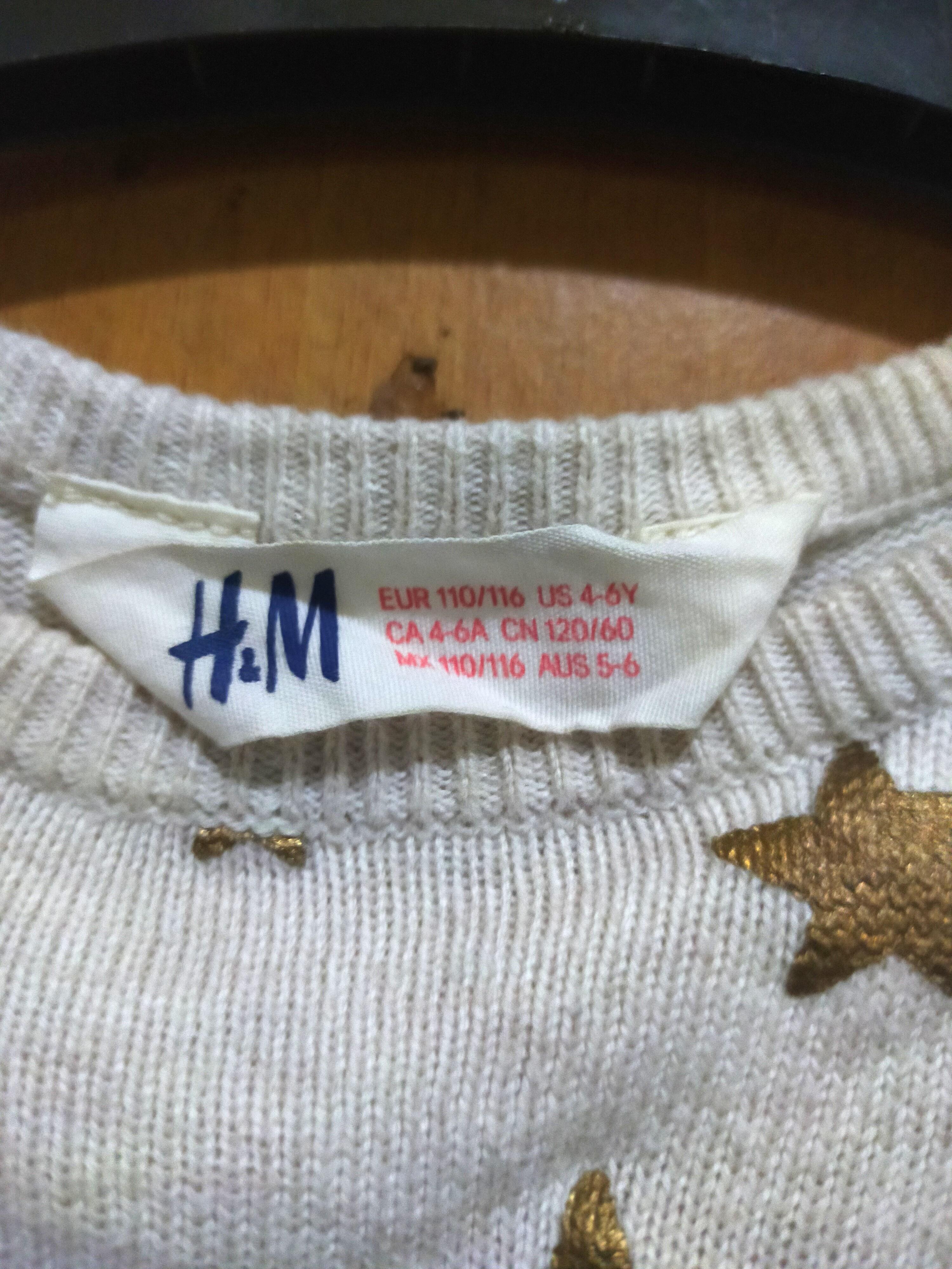 HnM Sweater Anak