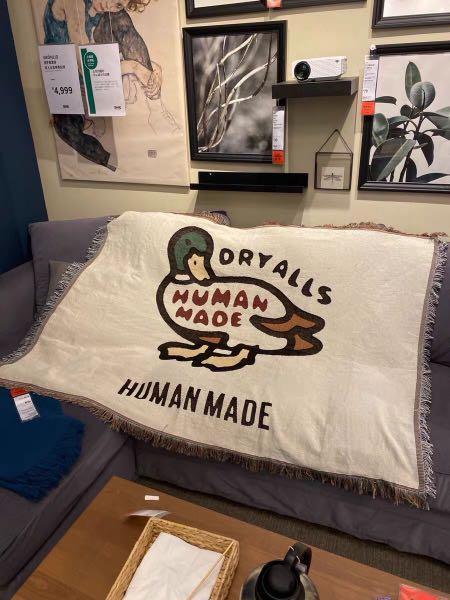 Human made 毛毯 鴨子🦆 毯子 空調毯 被子 地毯 坐墊 牆面 裝飾