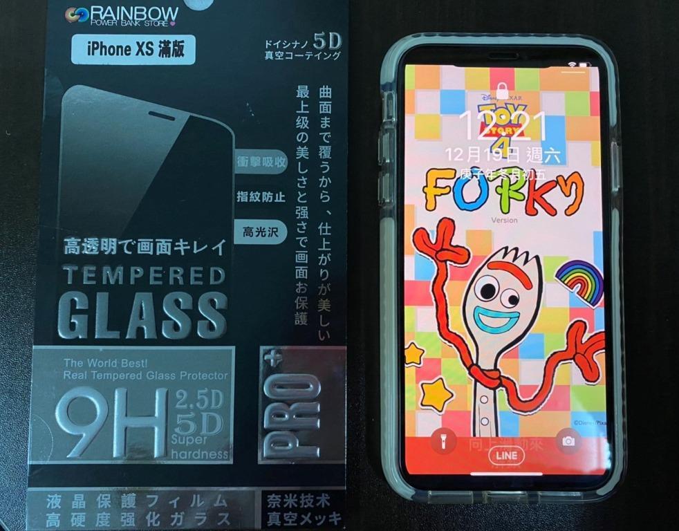 iphone X 256G 銀色 全機無刮痕 送3個casetify保護殼及全新保護貼