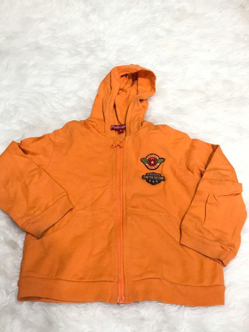 Jaket Orange Anak