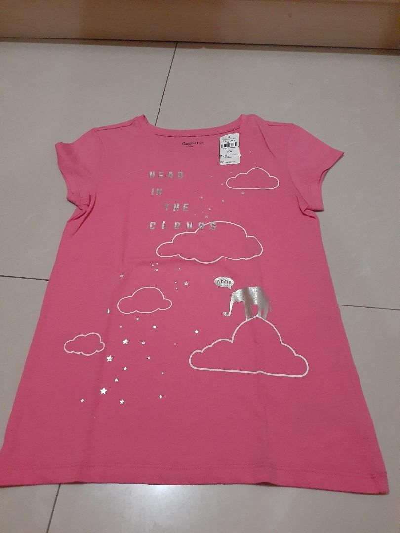 Kaos anak Pink Gap
