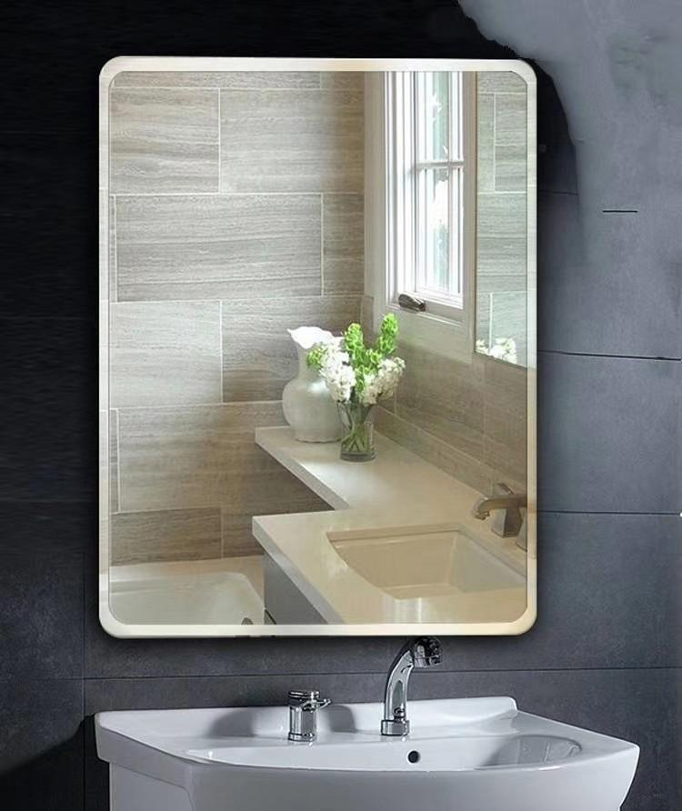 Large Infinity Bathroom Mirror Free Perforation Frameless Bathroom Bathroom Mirror Wall Mounted Mirror Vanity Mirror Can Be Pasted And Hung Furniture Others On Carousell