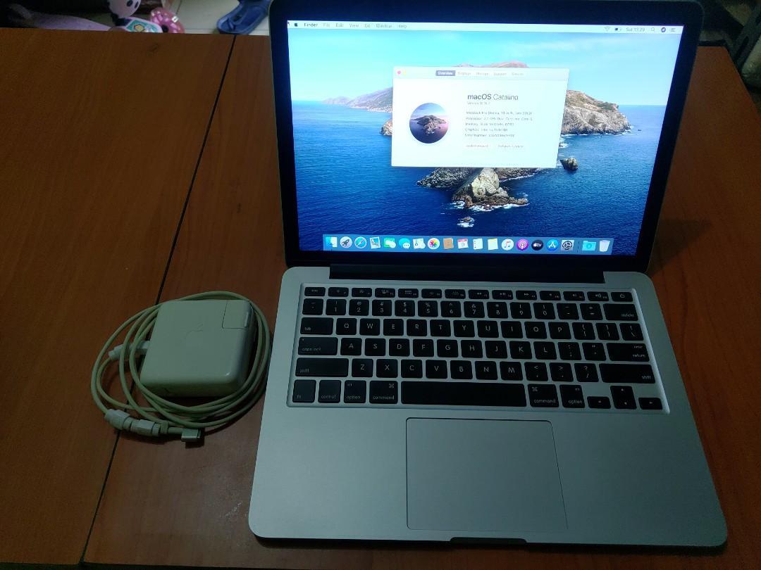 macbook pro 13 i5 retina display 8GB 256GB late 2013