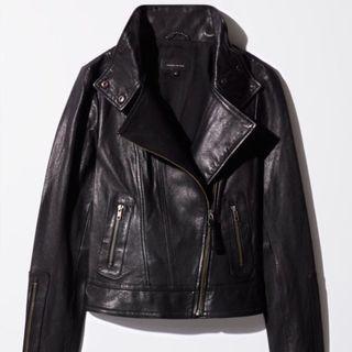 Mackage leather jacket size xxs