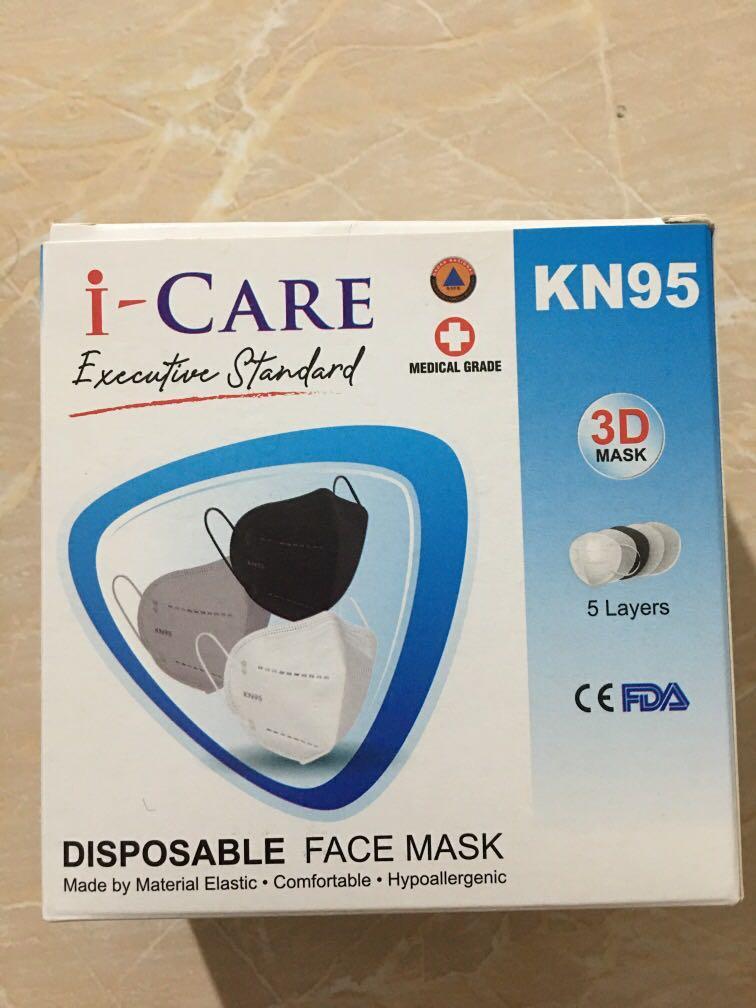 Masker KN 95 3DAsk  isi 10 pcs/1Box