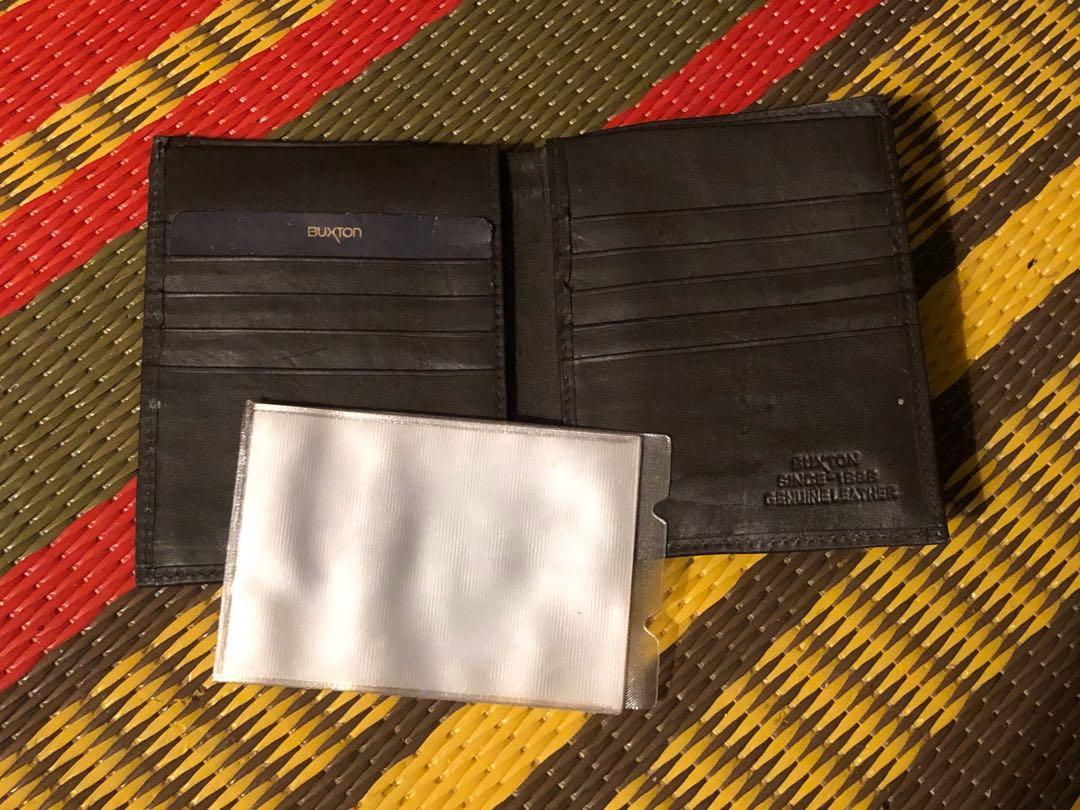 Never used vintage Buxton leather wallet