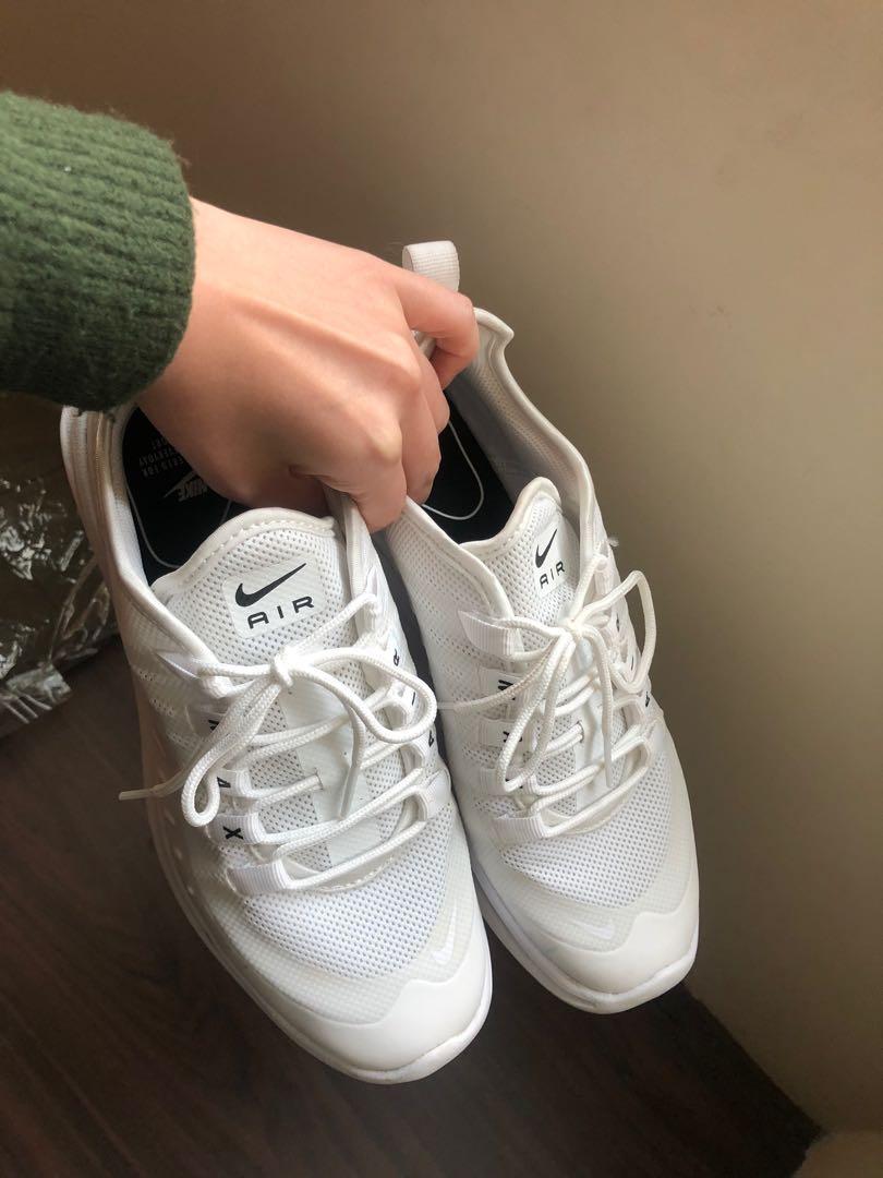 Nike air max axis仙女鞋全白