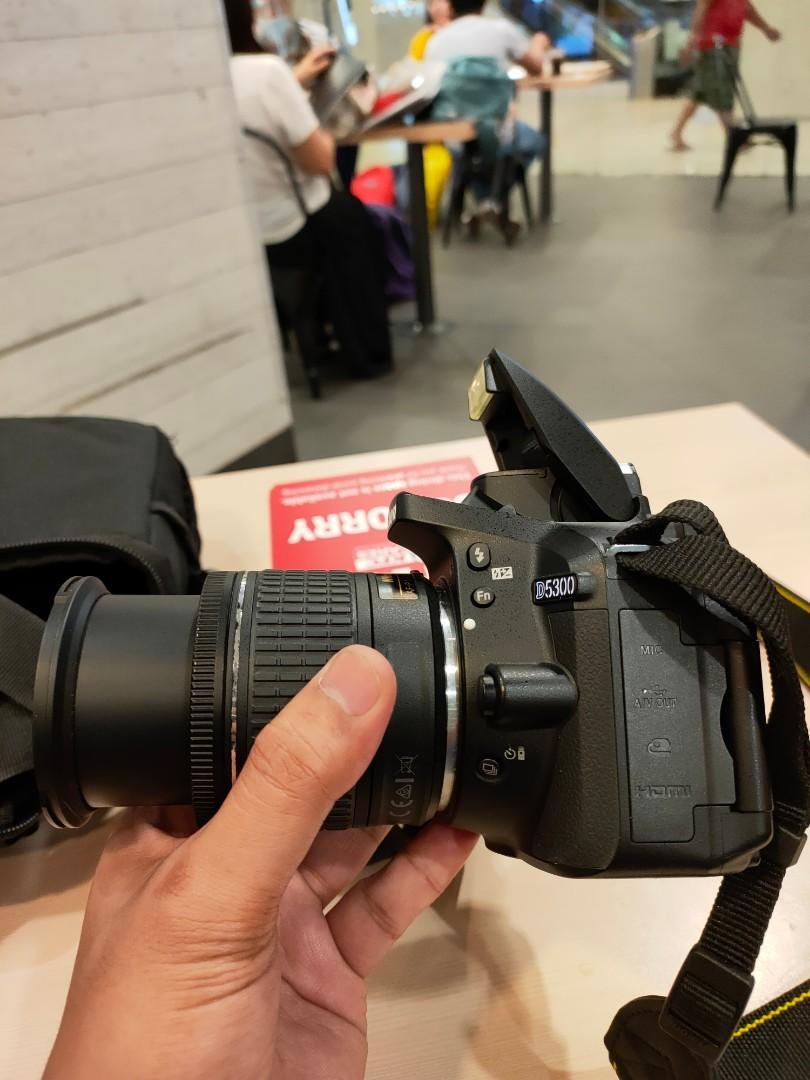 Nikon D5300 DSLR Wifi 24megapixel Flipscreen FHD Video Presentable Unit For Photography and Vloggers