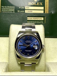 Preowned Rolex DJ36 116200
